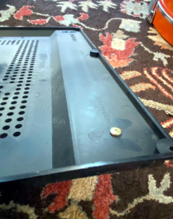 Steps in Replacing Realistic Lab 420 Record Player Turntable Isolation Feet