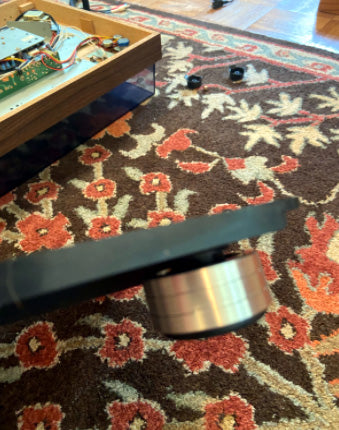Where to Replace Realistic Lab 420 Record Player Turntable Isolation Feet