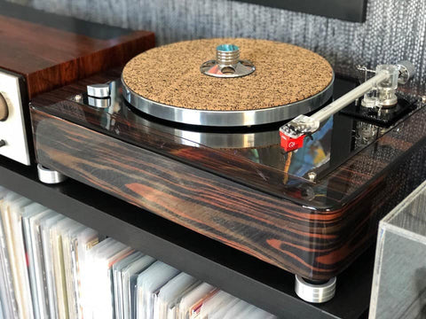 thorens large turntable isolation feet