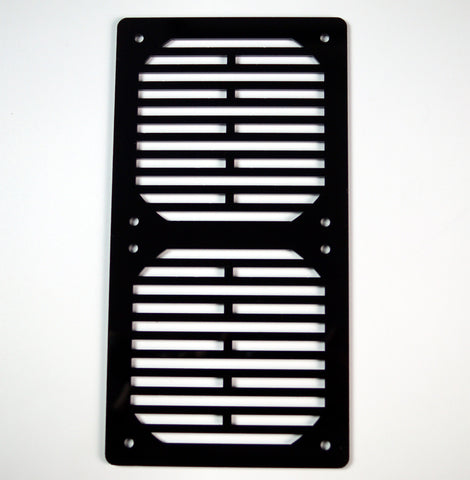 where to buy a 240mm / 2x120 PC Radiator & AIO CPU Cooler Grills in Black