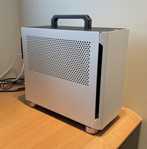 how to upgrade change lift and raise height of sliger cerebrus ITX / MATX gaming PC case