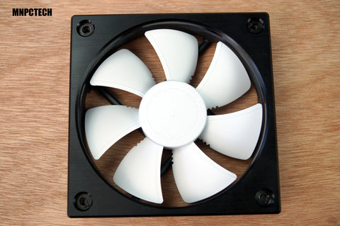 Open Air Frame Mnpctech 120mm Open Air Aluminum Custom PC Cooling Fan Frame