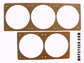 laser cut pc radiator template for measuring and cutting holes