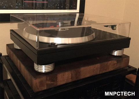 Find and Fix Rotel RP 850 Turntable / Phonograph / Record Player Custom Isolation Feet