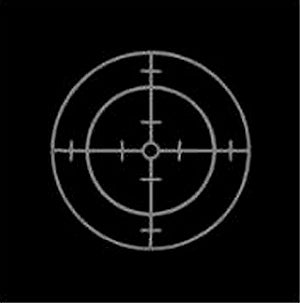 Sniper Target Scope Vinyl Decal Sticker Applique