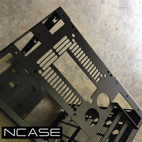 How to cut Ncase M1 Mini ITX case for Mnpctech Vertical GPU Video Card Mount