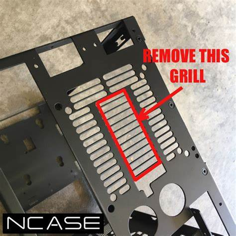 Modify Kit DIY Ncase M1 Mini ITX case for Vertical GPU Video Card Mount