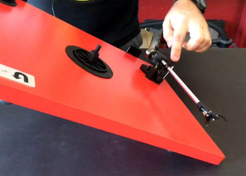 How to Repair and Replace U-Turn Audio Turntable belt and feet cartridge