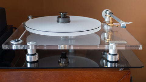 How to replace BLUENOTE Piccolo Turntable Sorbothane Isolation Feet