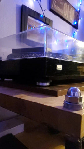 where to find and buy SANSUI SR-838, SR-636, SR-333 Custom Turntable Isolation Feet