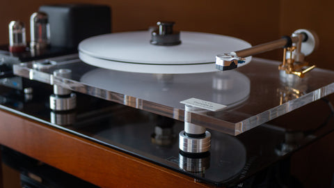 BLUENOTE Piccolo Turntable Sorbothane Isolation Feet Used For sale