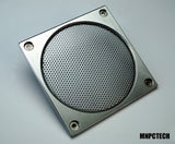 custom metal aluminum machined arcade cabinet vent grill