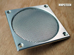 Medical electronics aluminum cooling fan grills for 120mm exhaust fan
