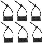 PC Cable Zip Tie Bases (Pack of Six)