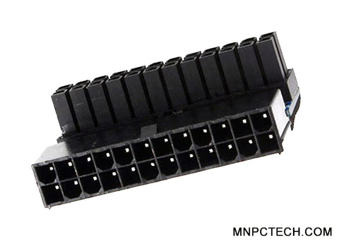 90 Degree Angle 24 Pin ATX Connector for Motherboard Mainboard