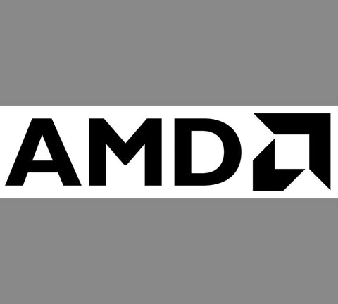 """AMD"" PC Window Decal"