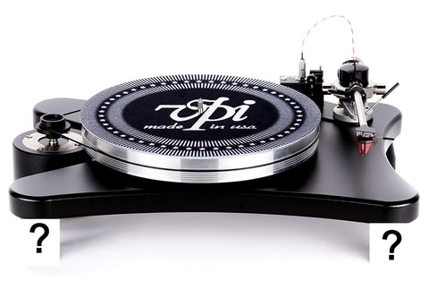 VPI HW-40, Prime, Scout, Signature Turntable Isolation Feet