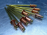 PC Pop Rivets Copper