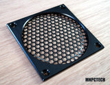 custom 120mm corsair pc fan grill black mesh honeycomb