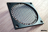 custom 120mm lian li dynamic PC-011 pc fan grill black mesh honeycomb