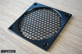 custom thermaltake cougar pc fan grill black mesh honeycomb