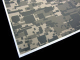 3M Army Digi-Camo / Digital Snow Camouflage Vinyl Film Wrap Sheets