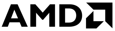 """AMD"" Ryzen logo PC Window Decal"
