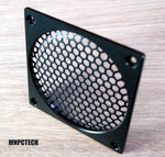 moddiy custom 120mm corsair pc fan grill black mesh honeycomb