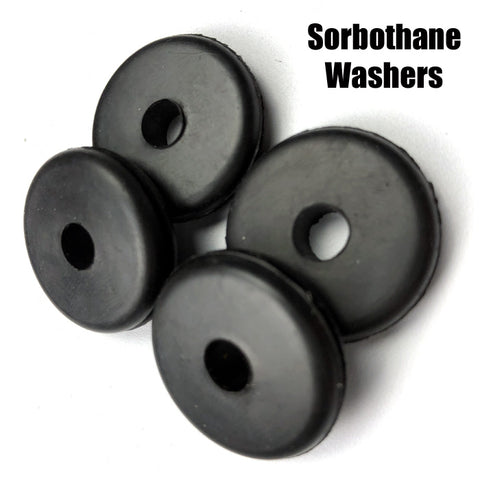 Turntable Feet Vibration Isolating Washers (Four)