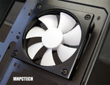 Buy Custom Open Air Hi-Flow Aluminum Custom PC Cooling Fan Frame
