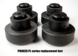PIONEER PL-Series Black Pedestal Feet