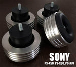 SONY PS-X50, PS-X60, PS-X70 Turntable Isolation Feet (Four)