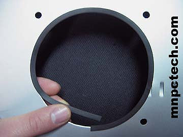 Small U-Channel Rubber PC Window Trim