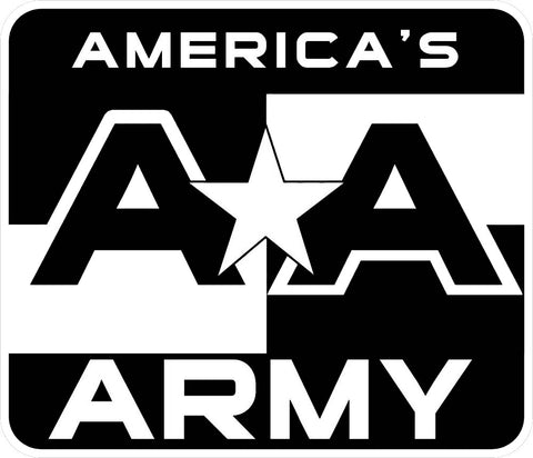 """AMERICAS ARMY"" PC Window Decal"