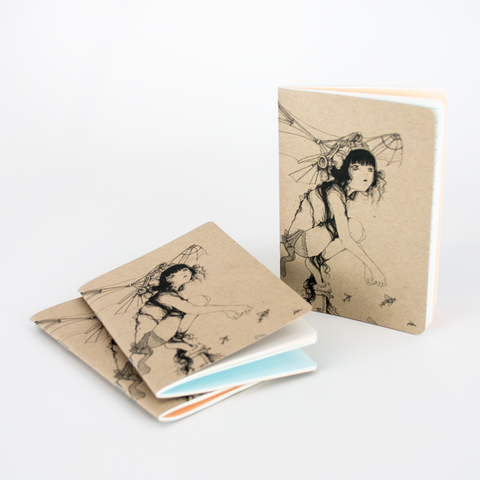 Resketch Journal Artist Cover - Camilla d'Errico (3-pack)