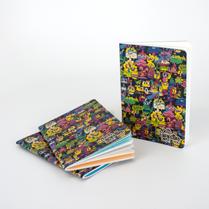 Resketch Journal Artist Cover - Jon Burgerman (3-pack)