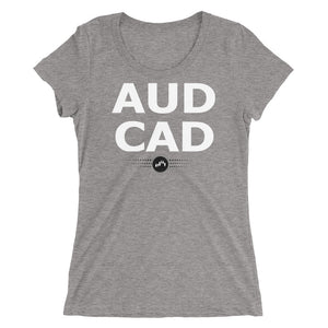 AUDCAD Tee (Ladies) | Forex Trading Apparel - Fly Trader Tee