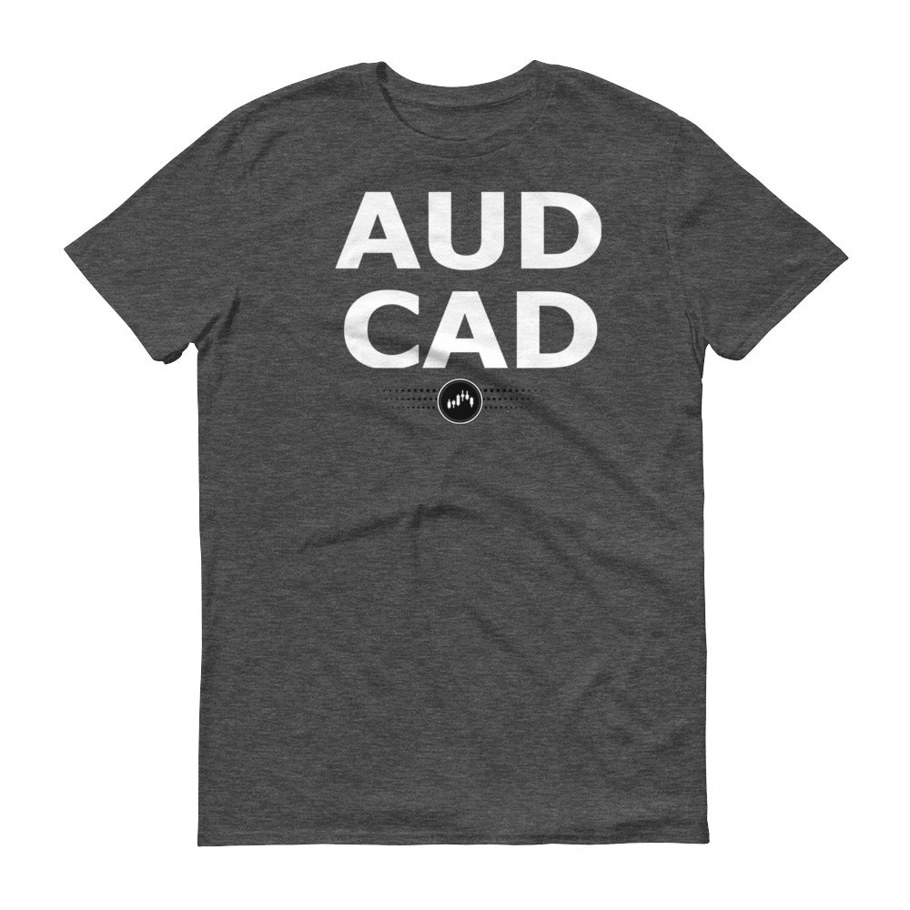 AUDCAD TEE | Forex Trading Apparel - Fly Trader Tee