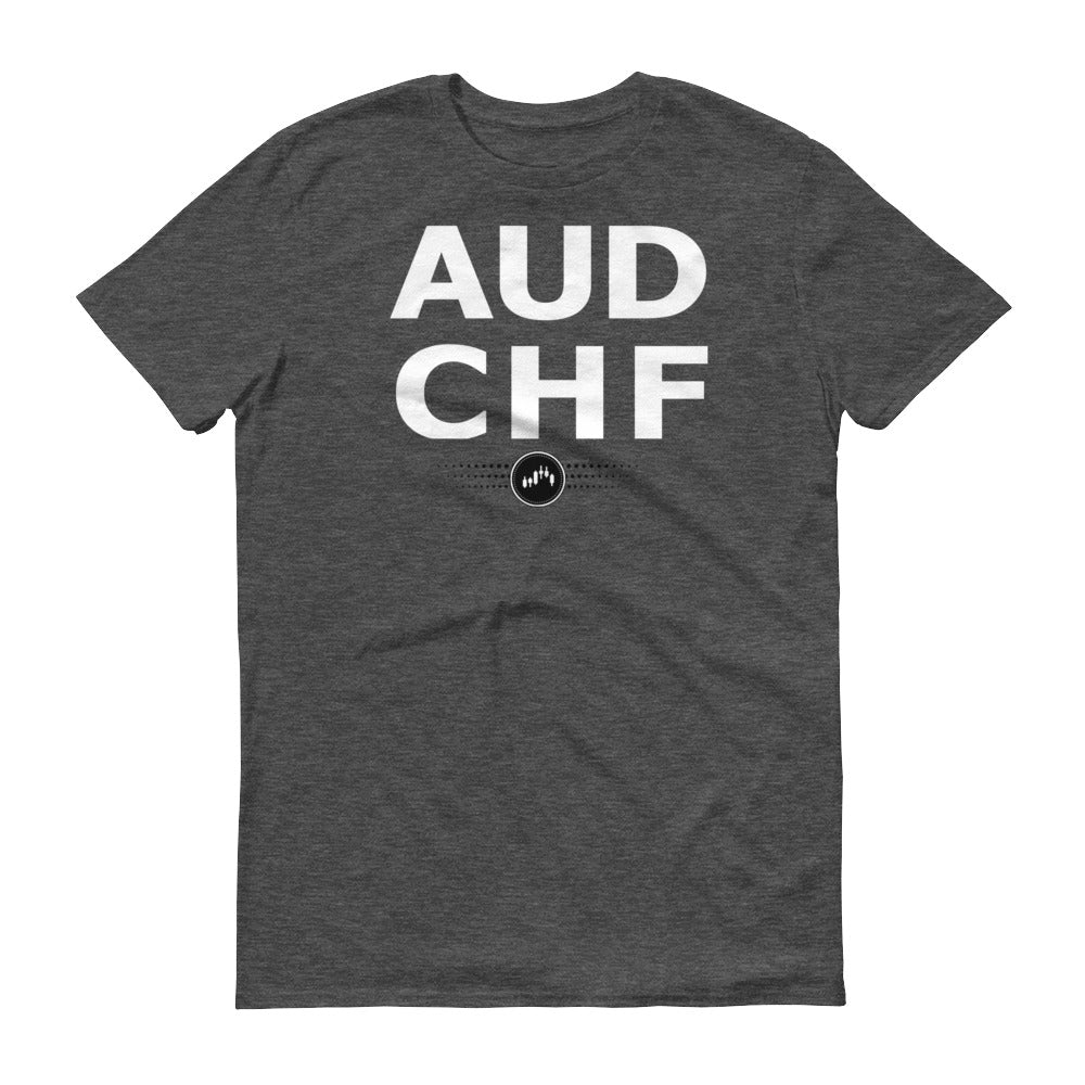 AUDCHF TEE | Forex Trading Apparel - Fly Trader Tee
