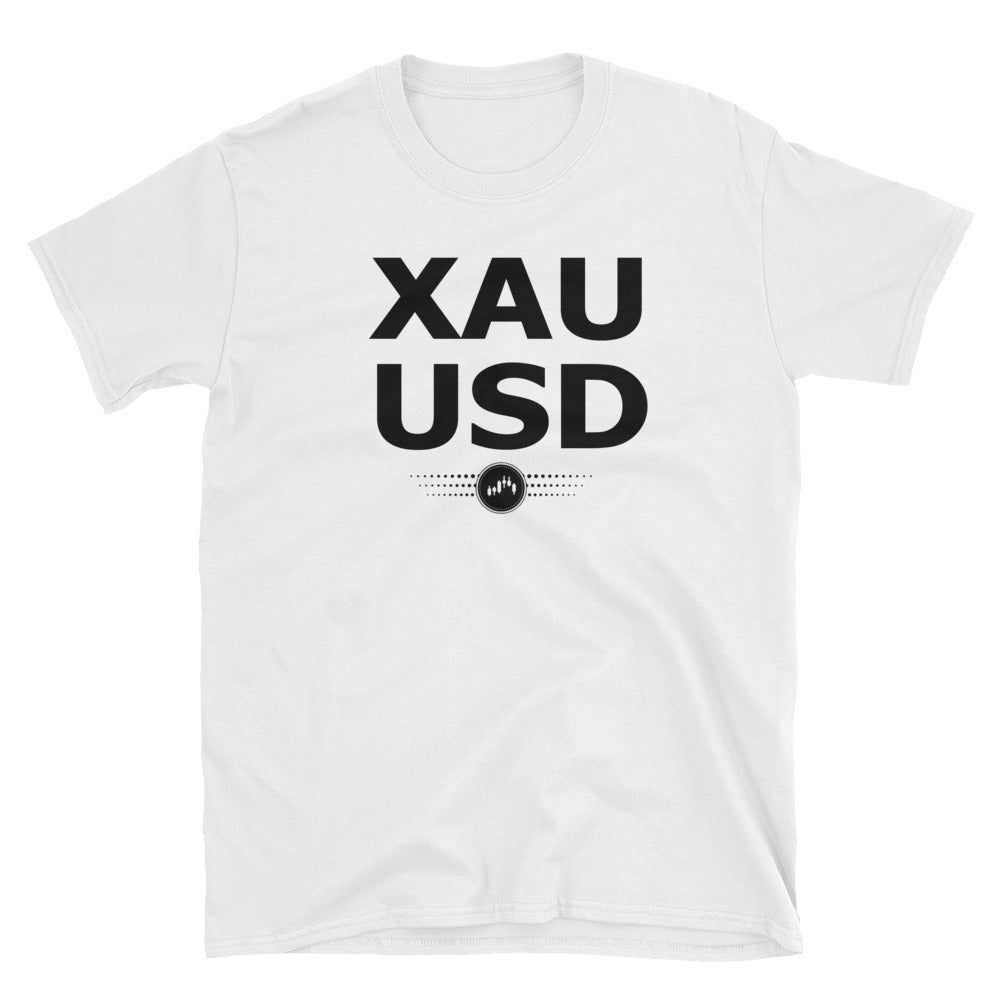 XAUUSD (BLACK AND WHITE) | FOREX TRADING APPAREL - Fly Trader Tee