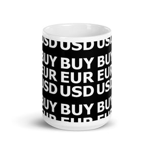 BUY EURUSD Mug | Forex Trader Accessories