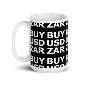 BUY USDZAR Mug | Forex Trader Accessories