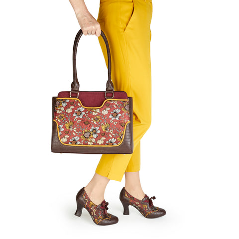 Ruby Shoo Daisy and Tunis in Russet Brown