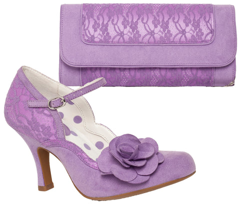 Ruby Shoo Josie and Tirana in Lilac