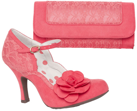 Ruby Shoo Josie and Tirana in Coraley Pink