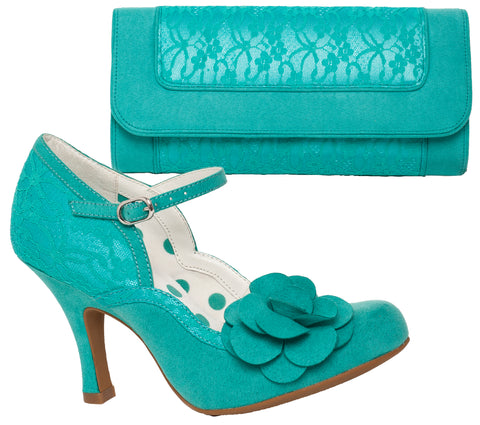 Ruby Shoo Josie and Tirana in Teal