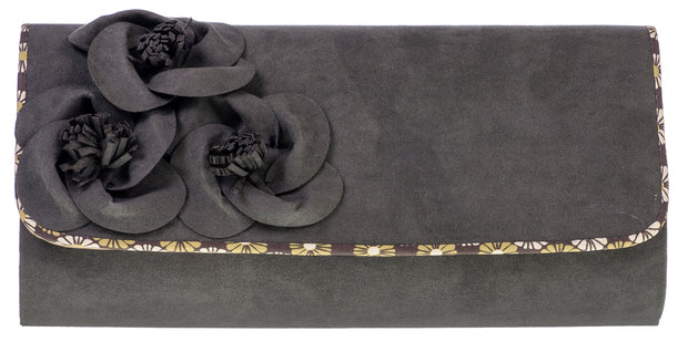 Ruby Shoo Kailey Olive Green Clutch Bag (Matches Sophie Heels)