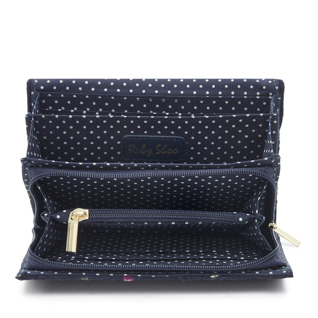 Ruby Shoo Garda Navy Multi Purse Wallet (Matches June Riva)