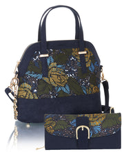 Ruby Shoo Lima Jungle Print Top Handle Bag & Matching Como Purse (Matches Polly Molly)