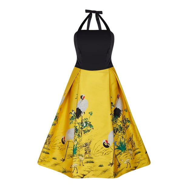 Collectif Vintage Women's Dolores Doll  Print Dress